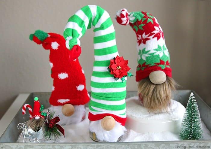 How to make Christmas Gnomes - DIY Gnome Family Village