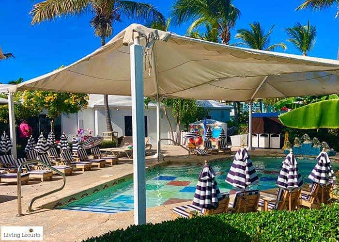 Kid Camp pool. Learn all about Beaches Resorts in Turks & Caicos to plan your next family trip! All-Inclusive Caribbean vacation travel review by Amy Locurto Food and Travel Blogger.