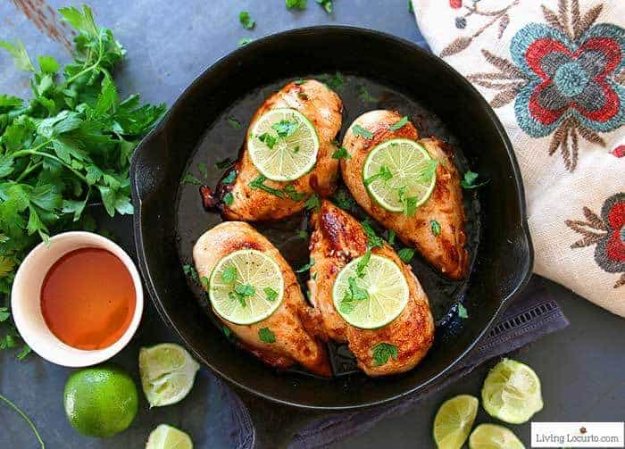 Honey Lime Baked Chicken Breasts Recipe in less than 30 minutes.