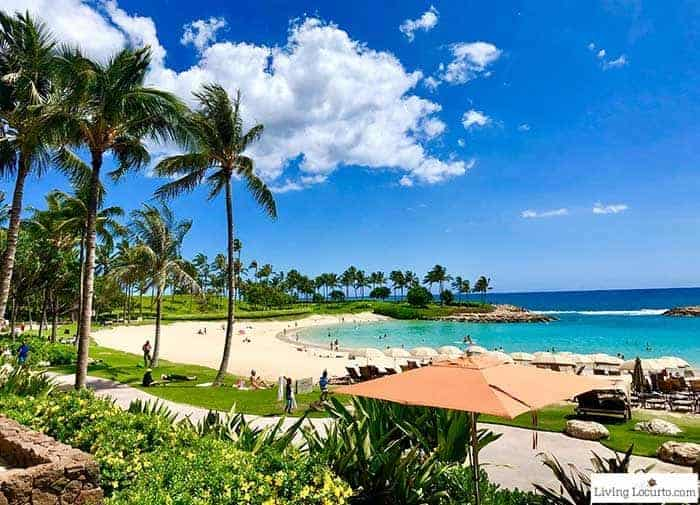 Disney Aulani Resort Ko Olina Beach. 2 Day Oahu Itinerary - Honolulu Hawaii Travel Tips