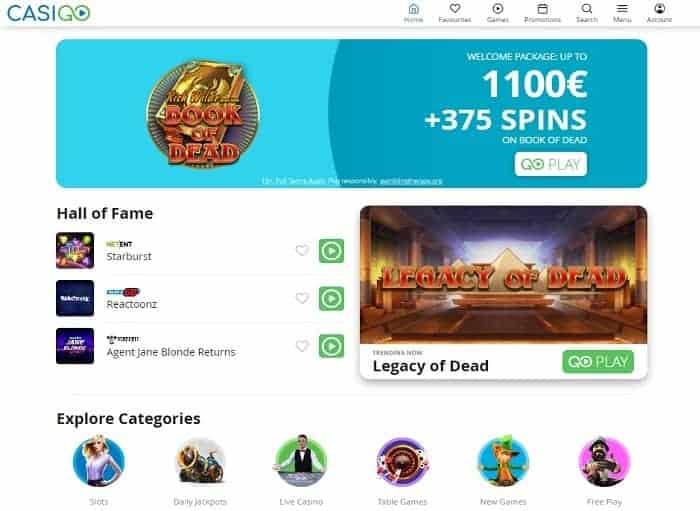 CasinoGo Review