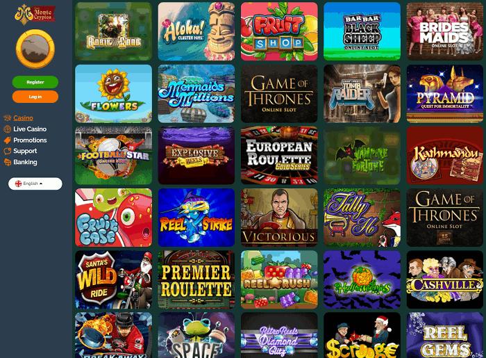 Play new slots, big jackpots and live casino!