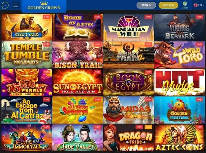 Golden Crown Casino Online Bonus Code
