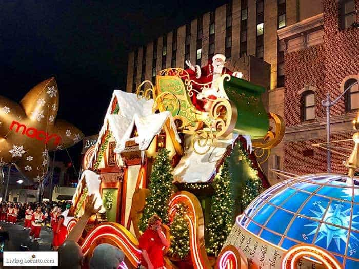 Santa Macys Parade   Christmas at Universal Orlando. Learn what's new this holiday season and get travel tips to make your Christmas vacation special.