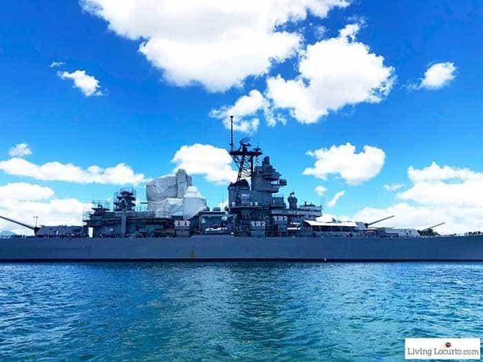 Pearl Harbor Ship - 2 Day Oahu Itinerary - Honolulu Hawaii Travel Tips