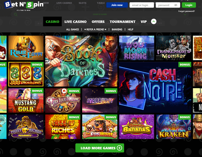 Bet N'Spin Casino & Sportsbook Review