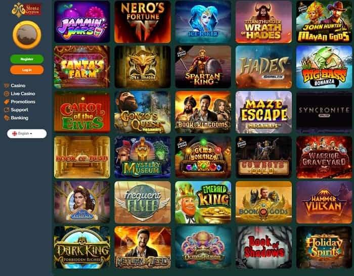 Montecryptos Casino Full Review