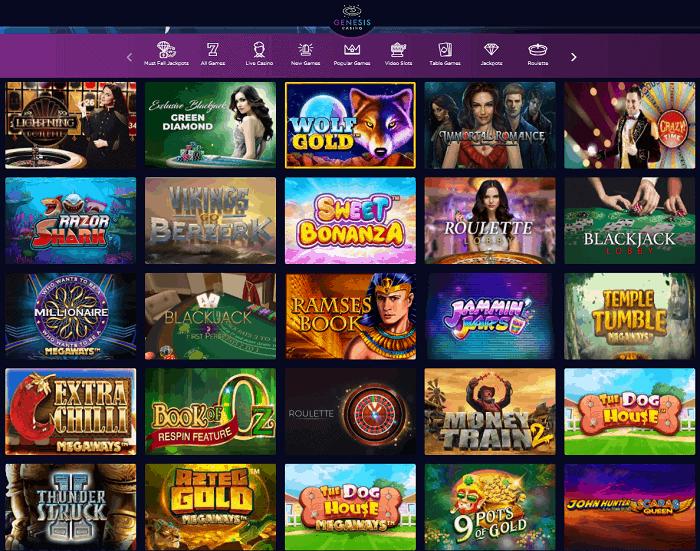 Genesis Casino Full Review