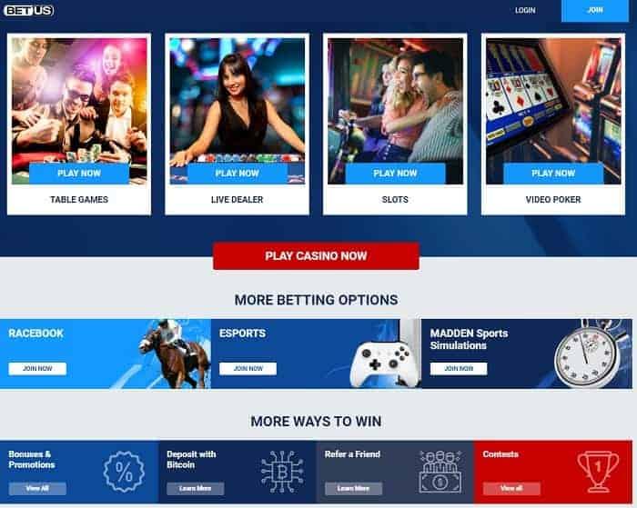 US Sportsbook free bet