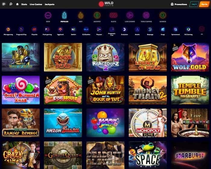 Wild Tokyo Online Casino Review