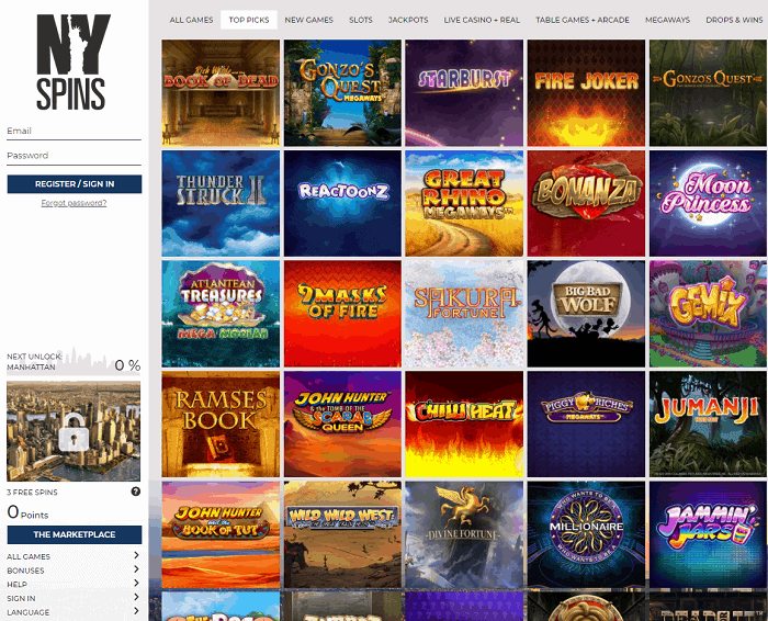 Join Exclusive Online Casino