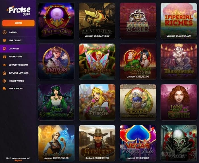 Prize Casino Full Review & Rating