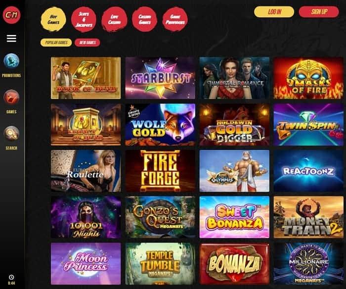 Casino Master free spins