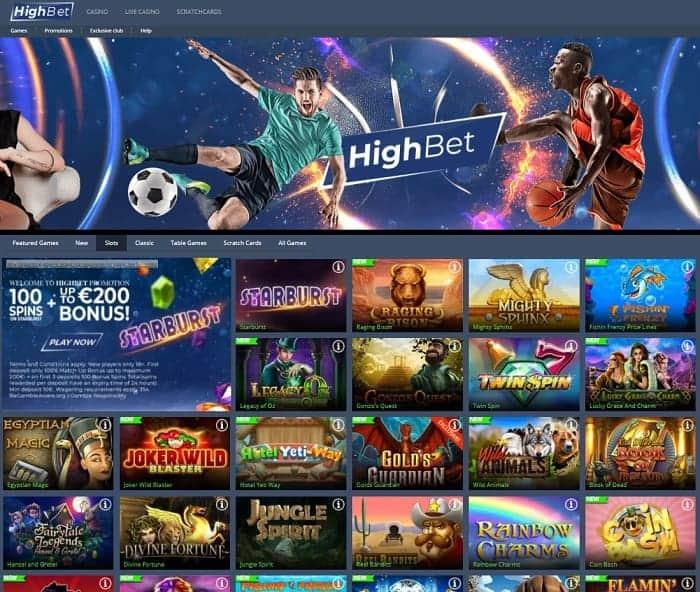 HighBet Free Games