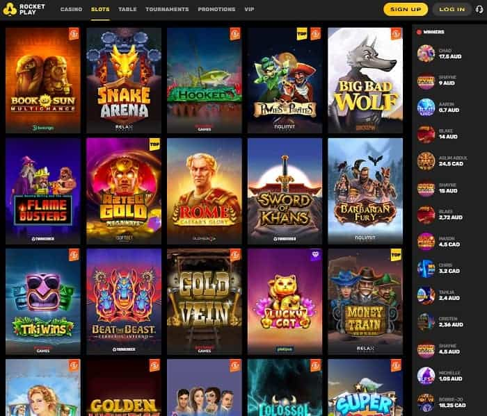 Rocket Play Exlusive Free Spins and Bonuses