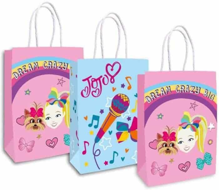 JoJo Siwa Birthday Party favor bags