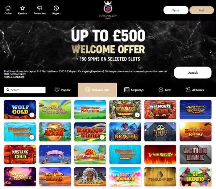 Royal Valley free bonus