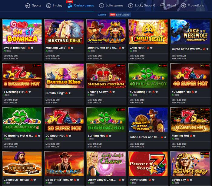 Mozzart Free Bet Bonus and Casino Games