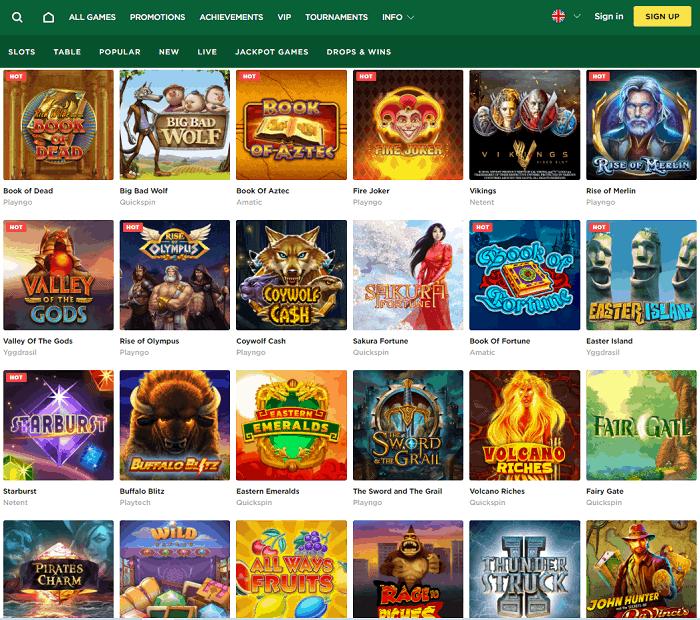 Mason Slots Casinoscreen review website