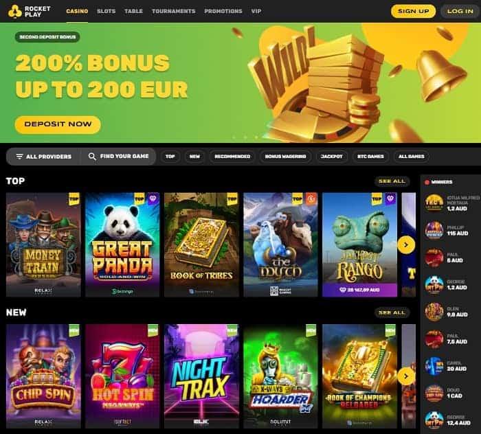 Rocketplay Casino Bonus