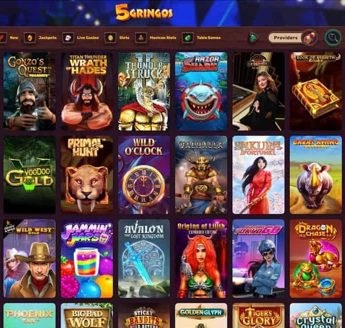 5 Gringo Casino Review