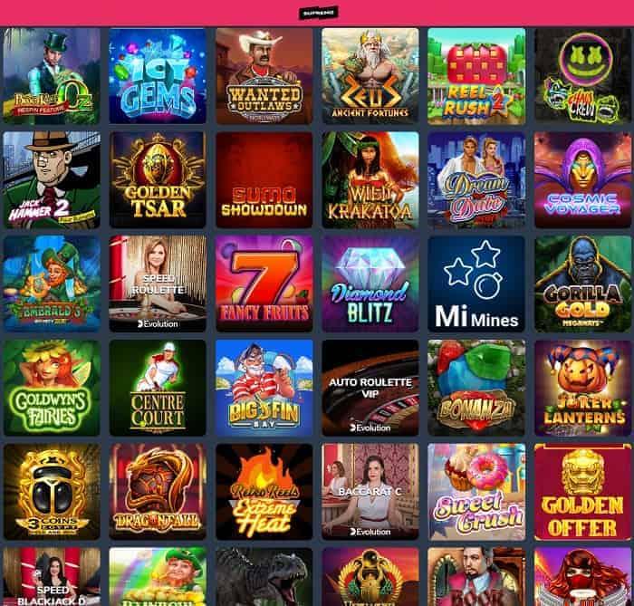 Supremo Casino free bonus