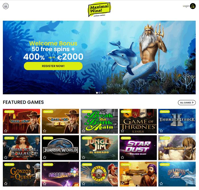 Maximal Win Casino Free Bonus