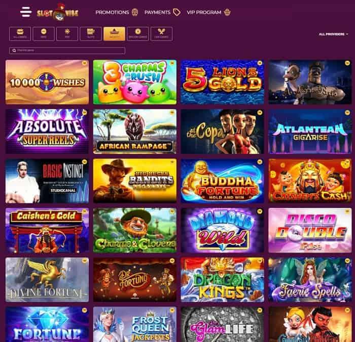 Play slots and crypto games