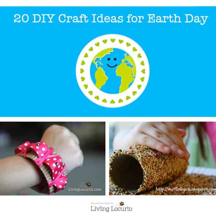 20 DIY REPURPOSED CRAFT & GARDENING IDEAS FOR EARTH DAY