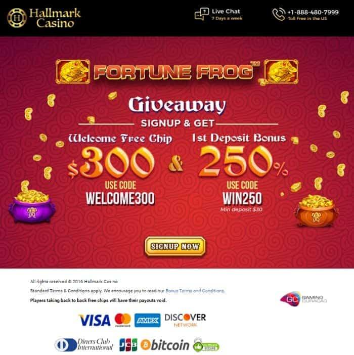 300 USD free cash bonus