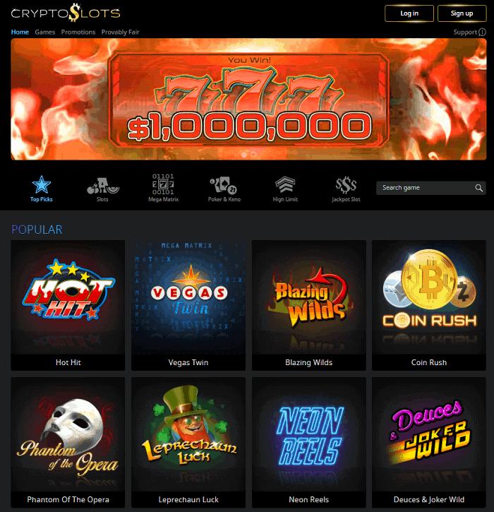 Crypto Slots Casino Review