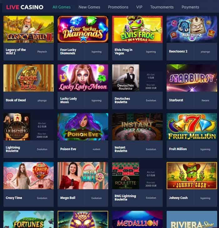 Live.Casino Review & Bonuses