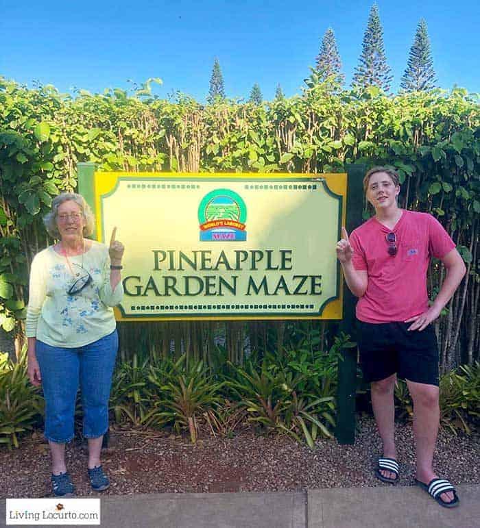 Dole Pineapple Maze - 2 Day Oahu Itinerary - Honolulu Hawaii Travel Tips - Living Locurto
