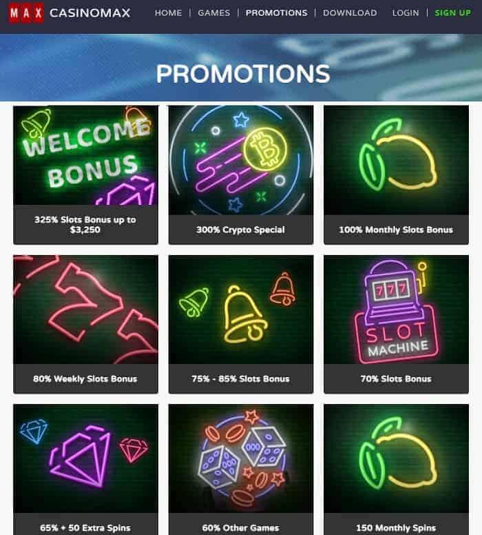 US Casino free chips