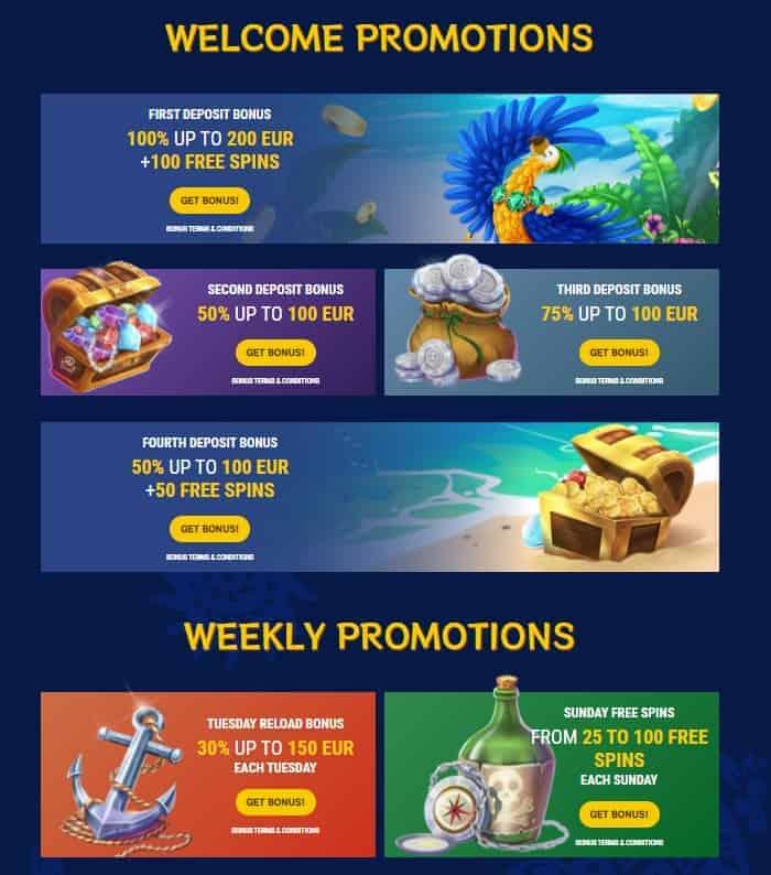 Kakadu All Bonuses