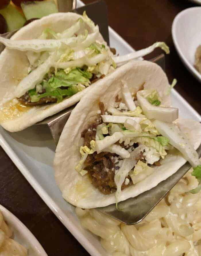 Shredded Beef Tacos at Tiffins Disney Animal Kingdom