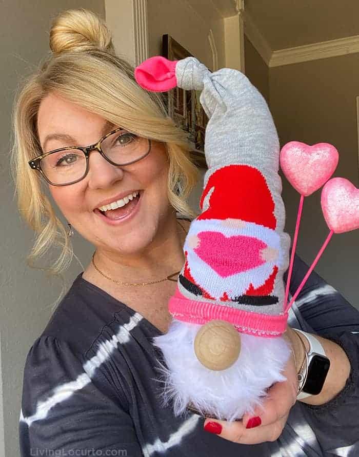 Homemade Valentine Gnome Ideas with Amy Locurto