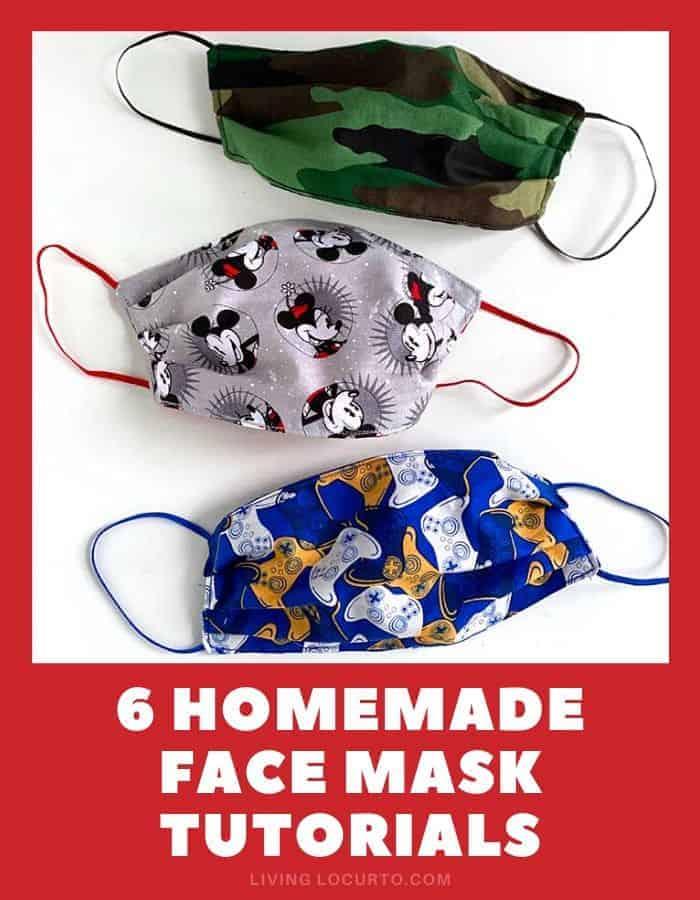 6 Easy DIY Homemade Face Mask Patterns