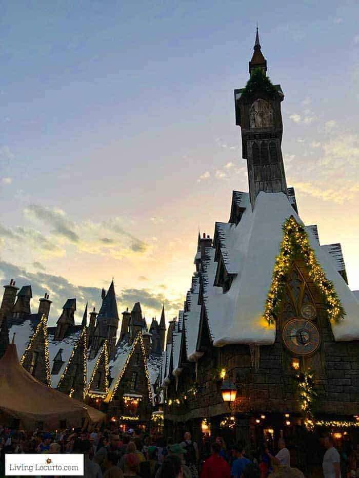 Hogsmeade holiday lights   Christmas at Universal Orlando. Learn what's new this holiday season and get travel tips to make your Christmas vacation special.