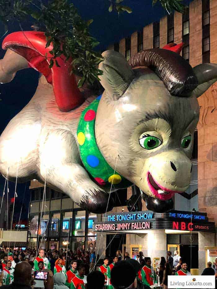 Shrek Baby Donkey Macys Parade   Christmas at Universal Orlando. Learn what's new this holiday season and get travel tips to make your Christmas vacation special.