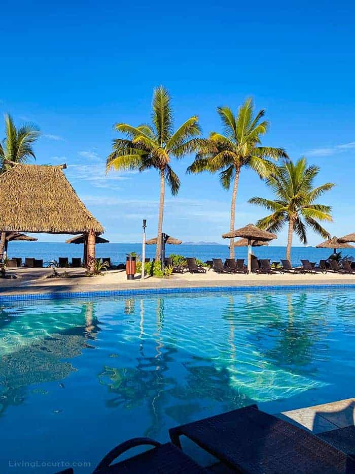Fiji Islands Travel Tips Where to Stay - Denarau Island Beach Wyndham Hotel Pool and Beach
