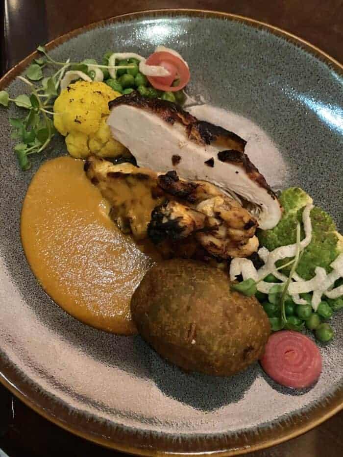 Butter Chicken at Tiffins Animal Kingdom