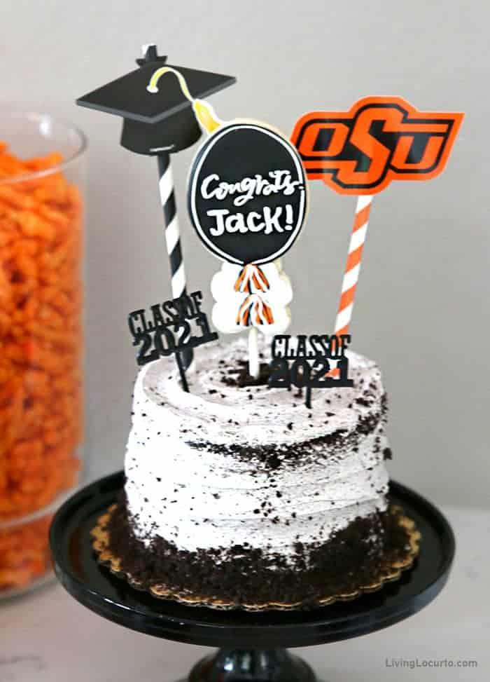 Graduation Party Cake Oklahoma State