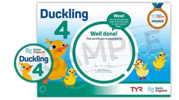 Ducklings 4 award
