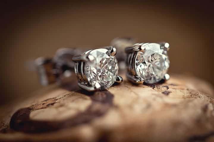 image of earrings for bride