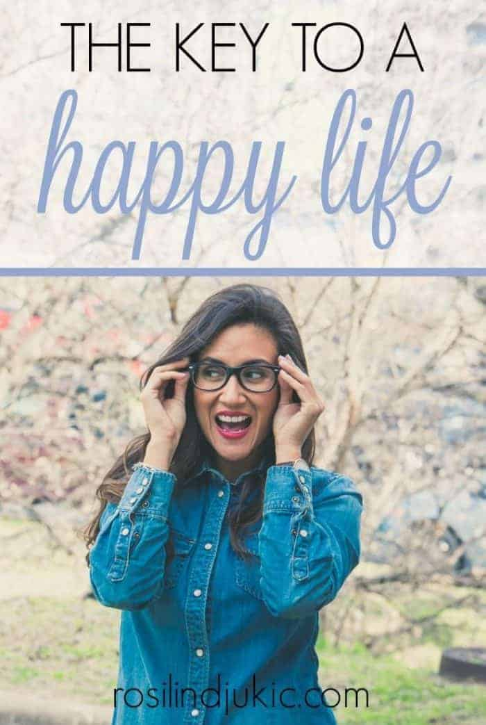 I have found the key to a happy life, and it's probably not what you think. Find out how you can live perpetually happy even when life doesn't go the way you've planned.