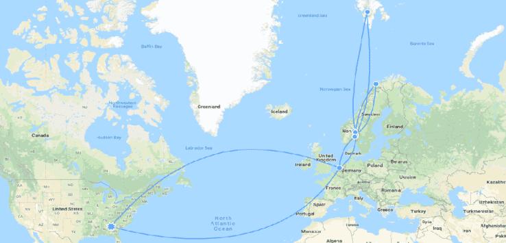 Svalbard and Norway 2019