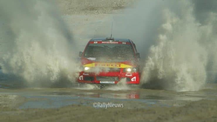 Mitsubsishi Lancer WRC2