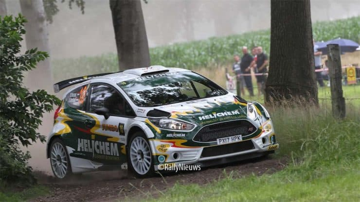 Henk Vossen & Erwin Berkhof - Ford Fiesta R5 - GTC Rally 2021