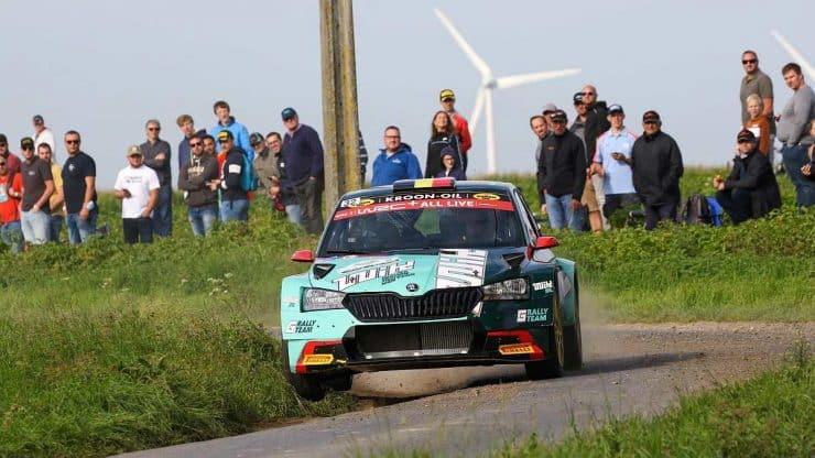 Ghislain de Mevius - Skoda Fabia R5 - Ypres Rally 2021